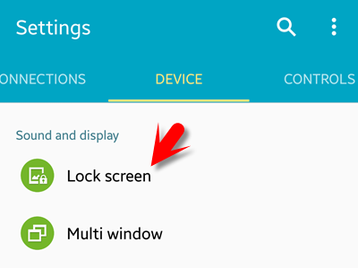How to add passcode on android