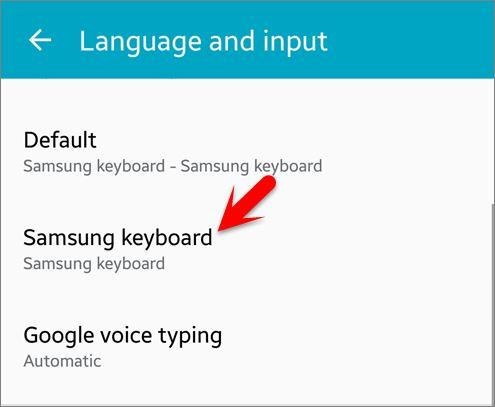 Delete Keyboard History on Android