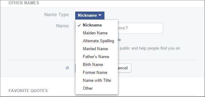 Name Type
