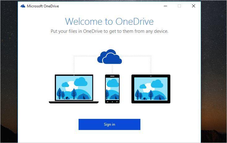 OneDrive Configuration
