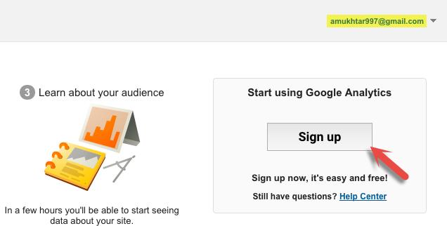 Start Using Google Analytics