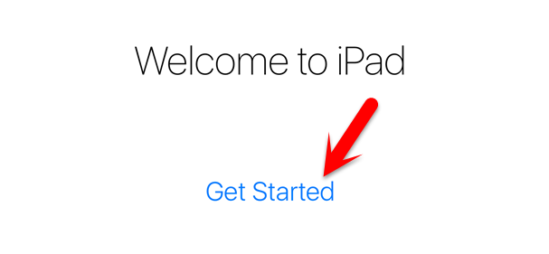 Welcome to iPad Get Started