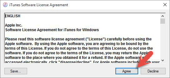 iTunes Software License Agreement