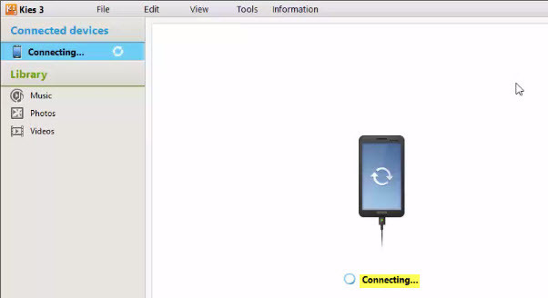 Connect the Device to the Computer