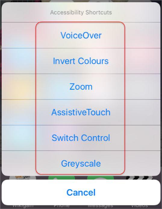 How to Create Accessibility Shortcuts on iOS Devices?