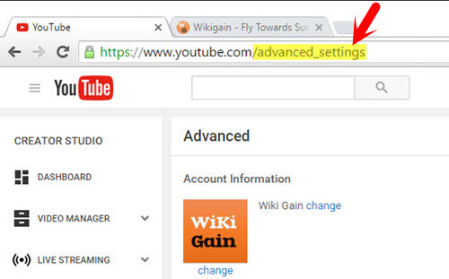 Advanced YouTube Settings