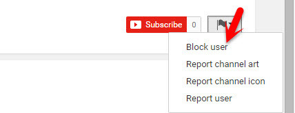 Block Someone on YouTube