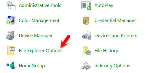 Change File Explorer from Quick Access to This PC