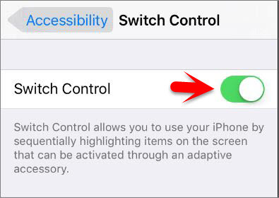 Enable Switch Control