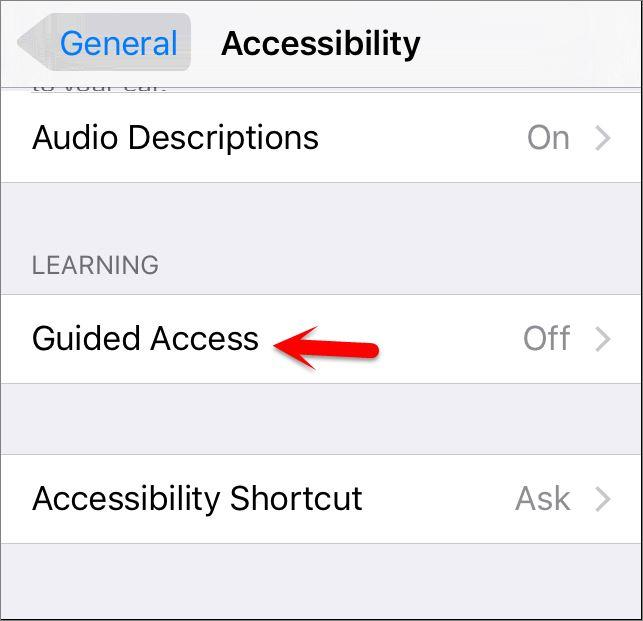 How to Setup and use Guided Access on iOS Devices?