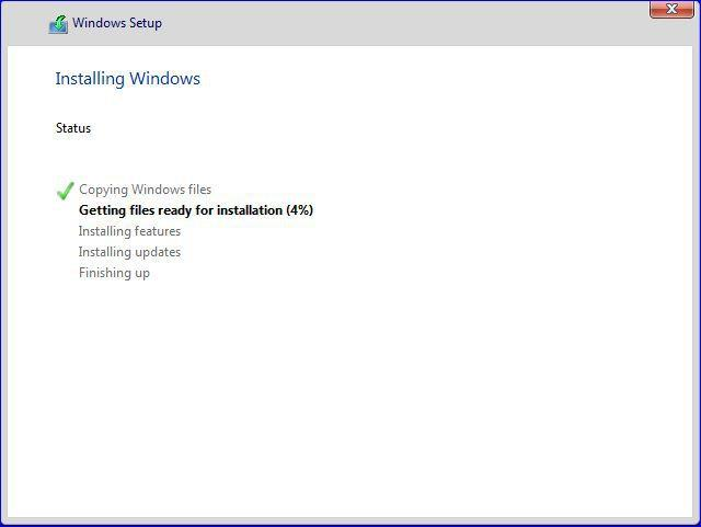 Installing Windows Features