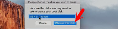 Choose this Disk