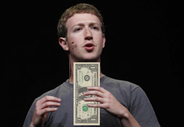 mark zuckerberg salary