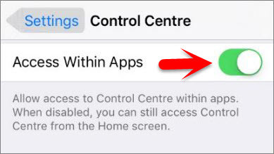 How to Setup and Use Control Center on iOS Devices?