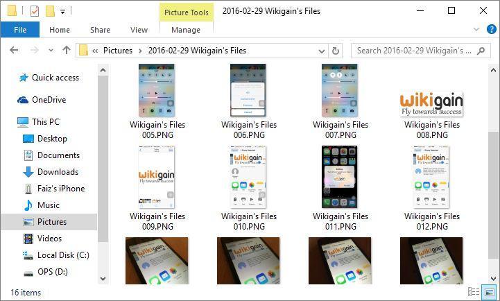 Wikigian's Files Transferred
