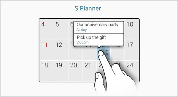 Air View S Planner