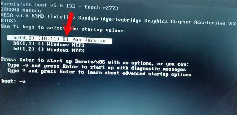 Install Mac OS X El Capitan
