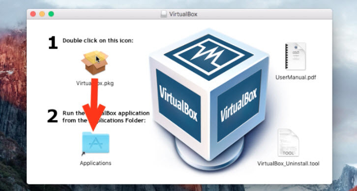 Install VirtualBox on Mac Computer