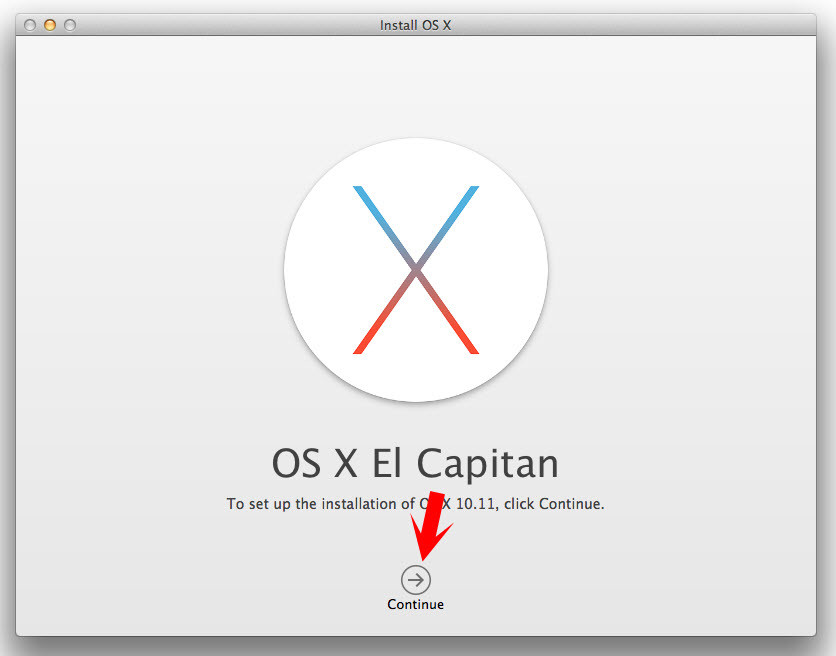 Upgrade Mac Yosemite to El Capitan
