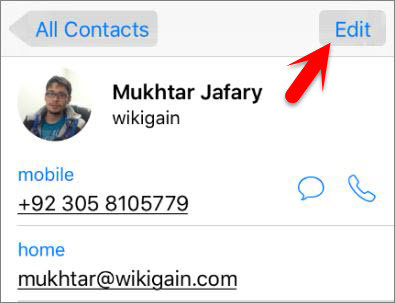 How to Set Special Ringtones to iPhone Contacts?