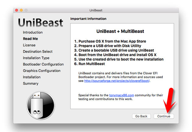 Important UniBeast Information