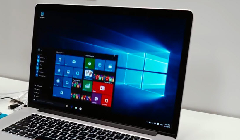 Install Windows with Boot Camp Assistant
