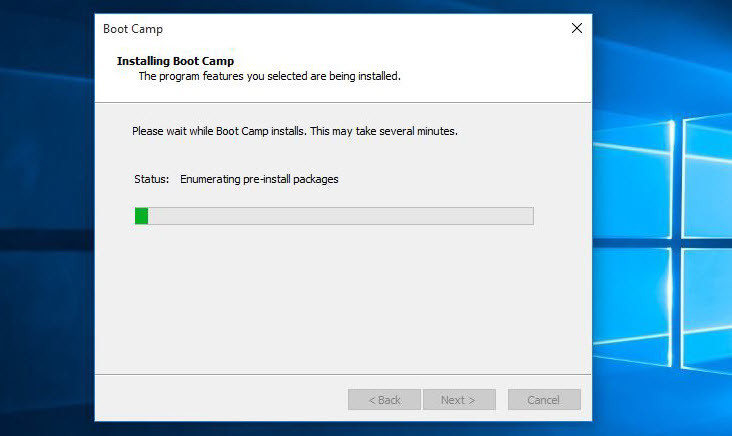 Installing Windows 10 Drivers on Mac OS