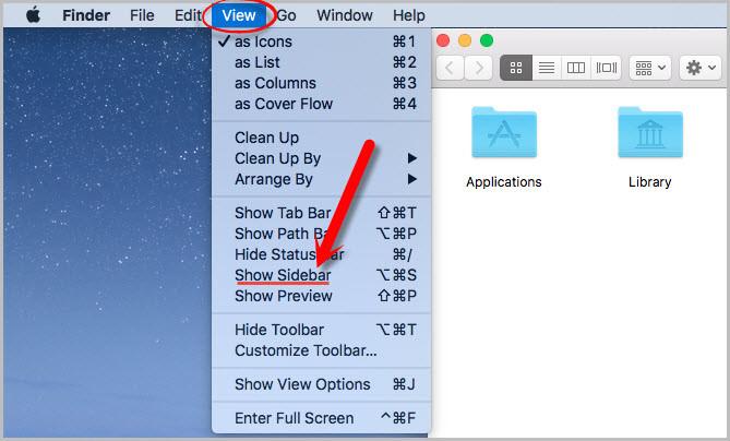 How to Customize Mac OS Sidebar
