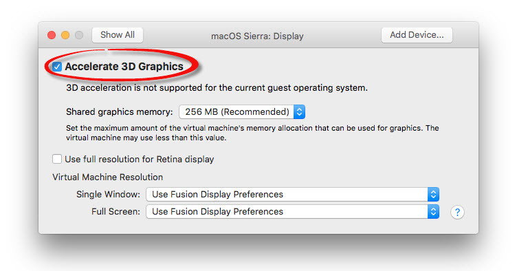 How to Install macOS Sierra 10.12 on MacBook with VMware Fusion?