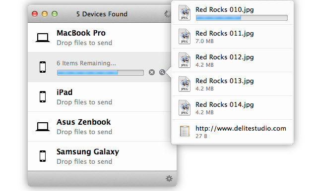 Transfer Files Between Android and Mac OS without USB Cable
