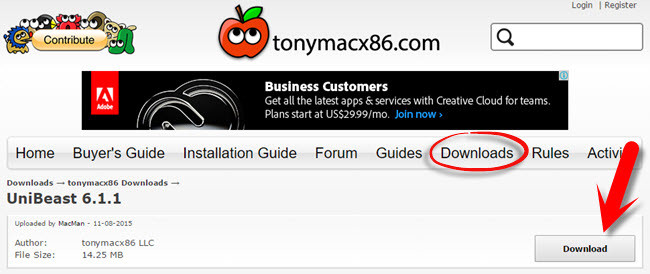 How to Create Bootable USB Installer for Mac Using UniBeast?