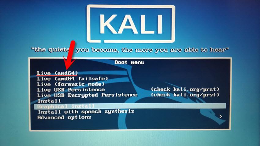 How to Use Kali Linux Live on Mac OS? - wikigain
