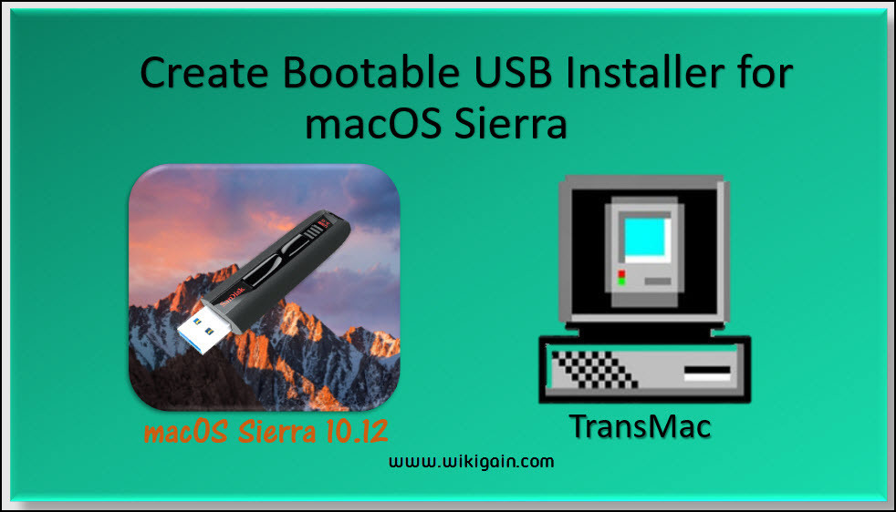 Mac Os Usb Bootable In Windows Software