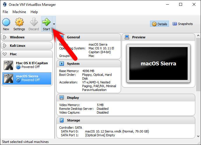 How to Install macOS Sierra 10 12 on VirtualBox - Windows 10, 8, 7