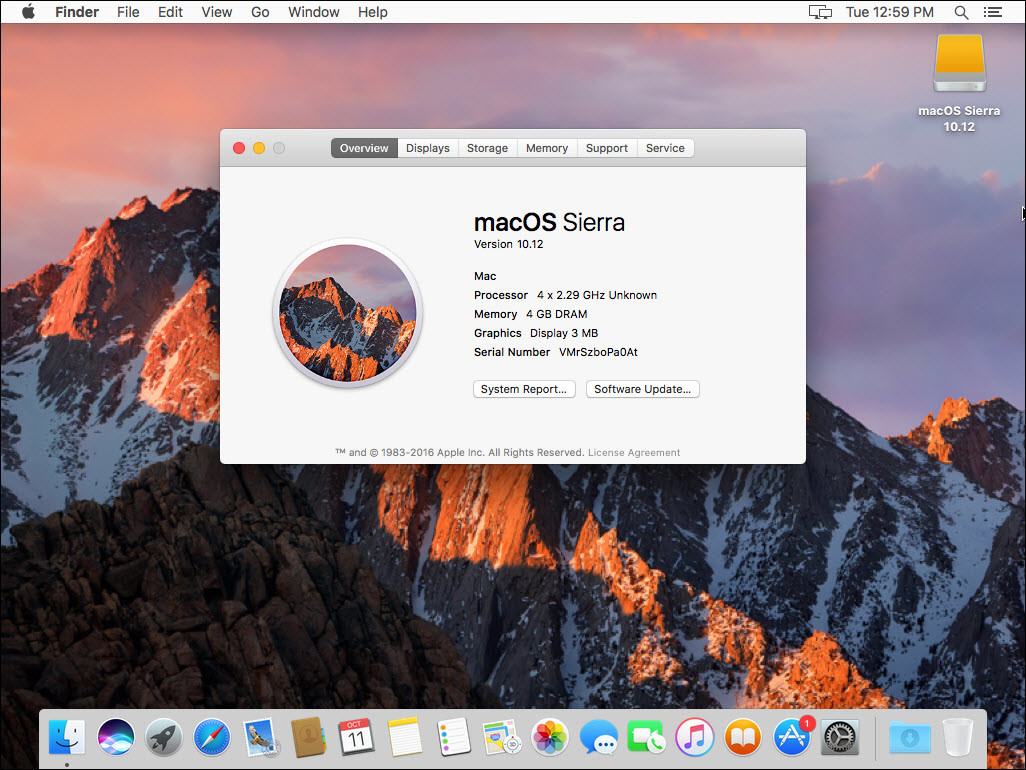 How to Install macOS Sierra 10.12 on VMware - Windows 10, 8, 7