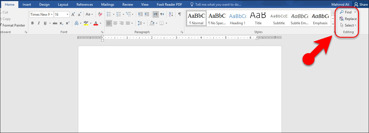 Text Editing Group In Microsoft Word 2016 Wikigain