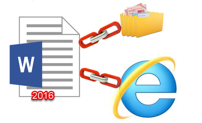 how to add links to microsoft word