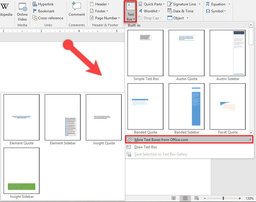 how to add box border in word 2016