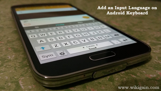 How to Add an Input Language on Android Keyboard? - wikigain