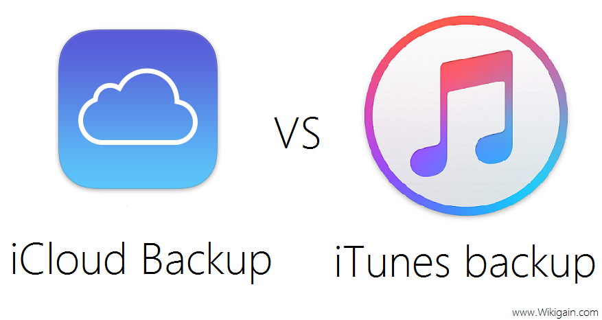 What's the Difference between iCloud Backup and iTunes
