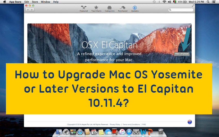 Mac Update 10.11