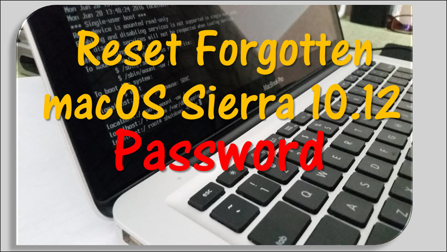 how to change password on mac if forgotten