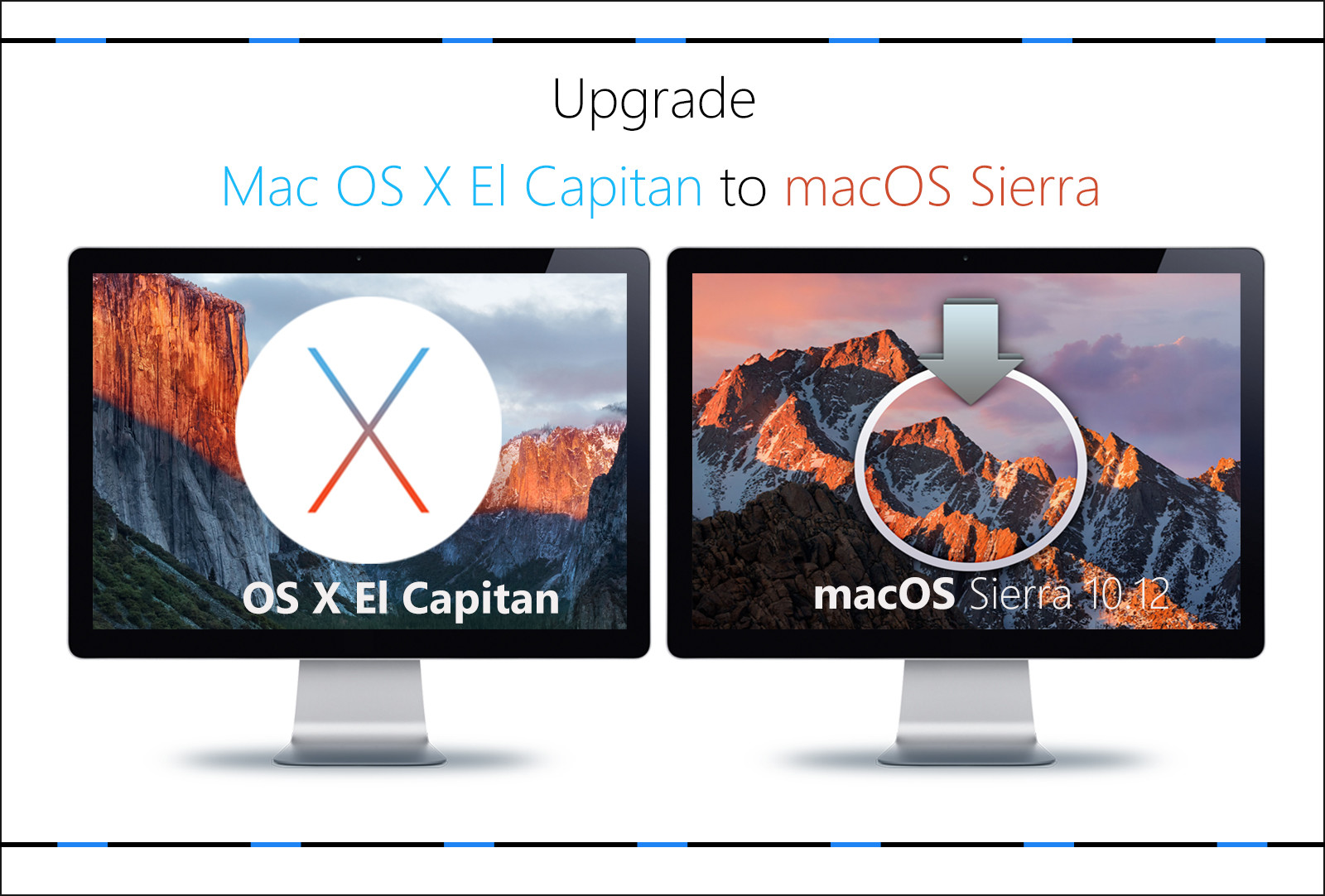How to Upgrade Mac OS X El Capitan to macOS Sierra 10 12?