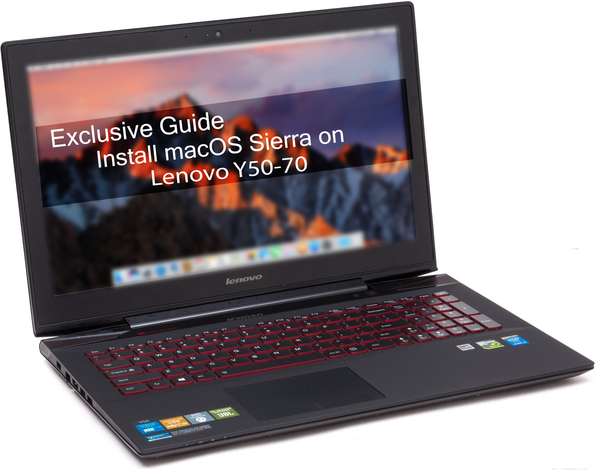 Exclusive Guide] Install macOS Sierra on Lenovo Y50-70