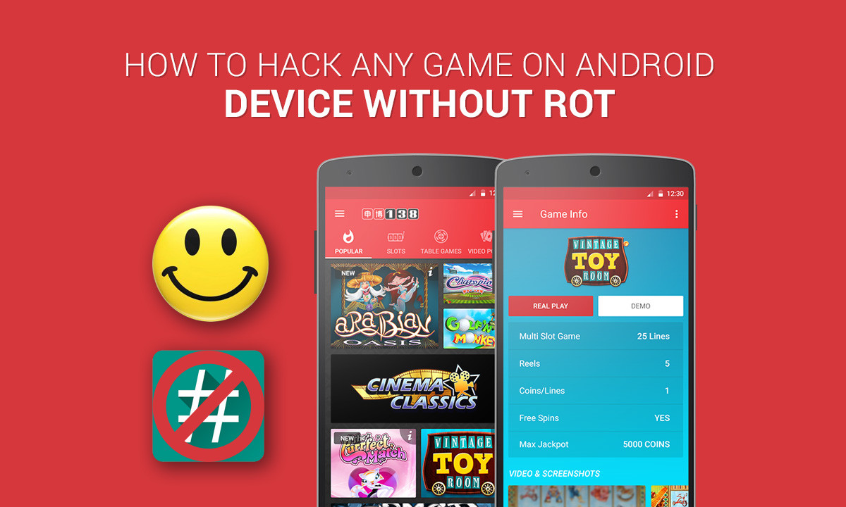 How to Hack any Game on Android Device without Root