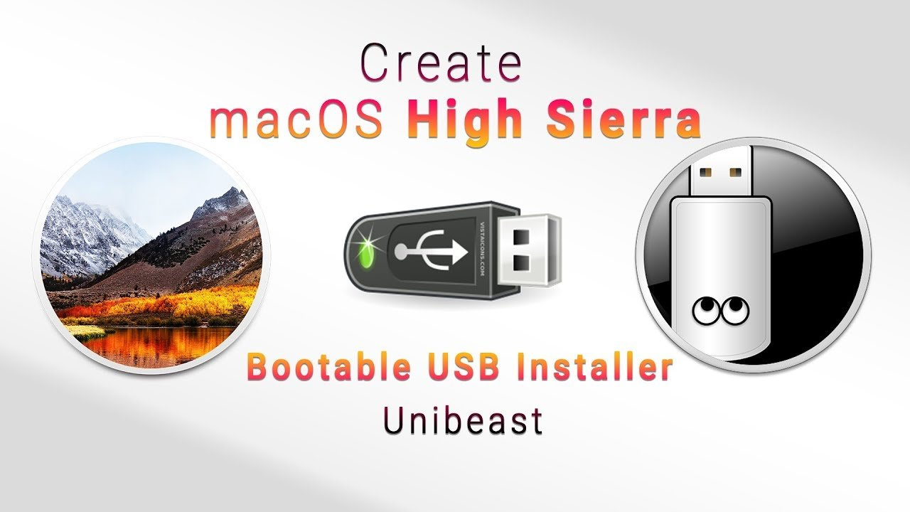 How to Create Bootable USB Installer for macOS High Sierra