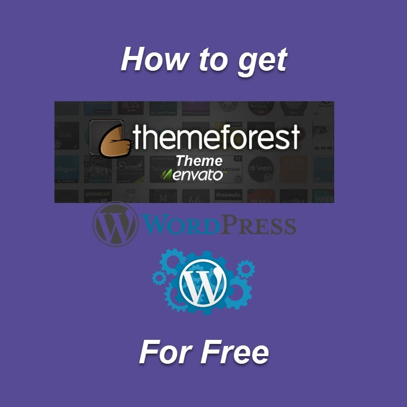 How To Get Free Wordpress Theme From Themeforest Wikigain