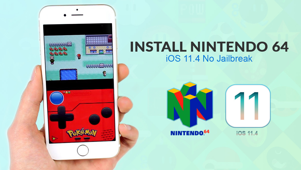 How to Install Nintendo 64 Emulator on iOS 11 4 No Jailbreak
