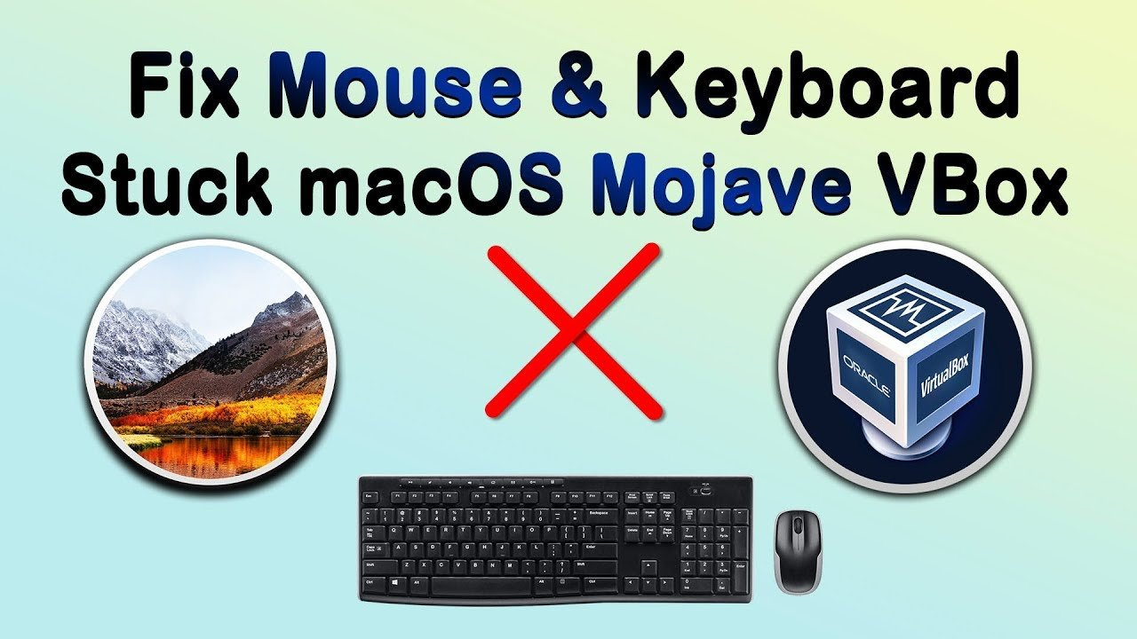 How to Fix Mouse & Keyboard Stuck on macOS Mojave on