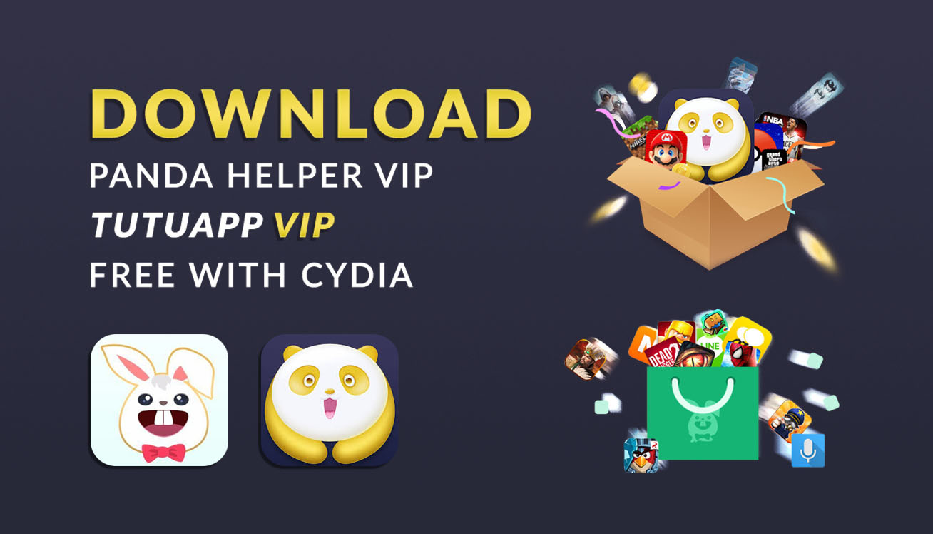 Get Panda Helper VIP, Tutuapp VIP Free - iOS 11 3 1 (With Jailbreak
